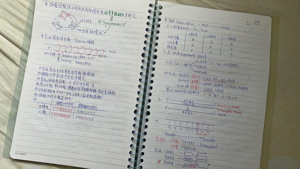準備 營養師國考 的筆記
